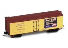 Micro-Trains 40' Double-Sheathed Wood Box Car, Single Door JW10498