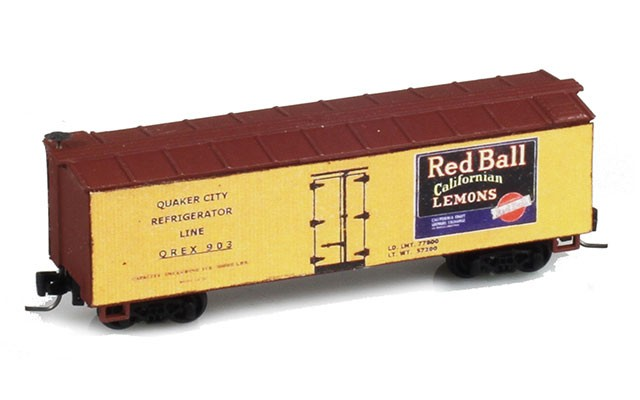 Micro-Trains 40' Double-Sheathed Wood Box Car, Single Door JW10498