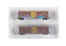 Micro-Trains 50' Boxcar Weathered Set 51044140