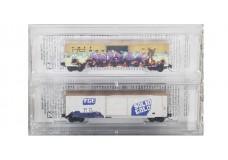 Micro-Trains 50' FMC Single Door Boxcar Set 51044221