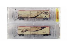 Micro-Trains 50' FMC Boxcar Two Pack 51044240