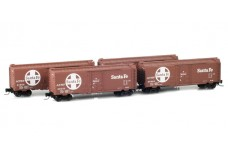 Micro-Trains Runner pack 40' boxcars with plug doors 99400003