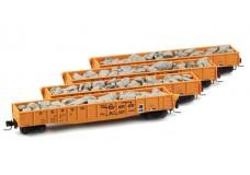 Micro-Trains 50' Fish-belly gondola set 99400004