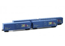 Micro-Trains Runner pack 50' plug door boxcars 99400093