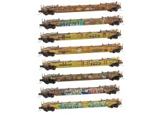 Micro-Trains Weathered freight set 99400812