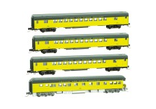 Micro-Trains Passenger car four pack 99401240