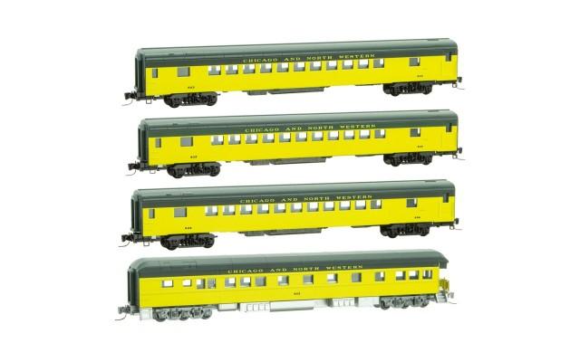 Micro-Trains Passenger car four pack 99401240