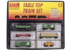Micro-Trains F7 Table Top Starter Set with Snail Controller and Ztrack Subscription.  99403190