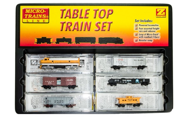 Micro-Trains F7 Table Top Starter Set with Snail Controller and Ztrack Subscription.  99403940