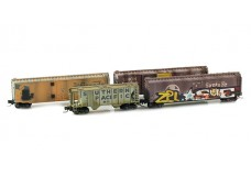 Micro-Trains South Western roads weathered set 99405020