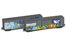 Micro-Trains 50' single door boxcar set 99405250