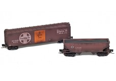 Micro-Trains Weathered two-pack 99405260