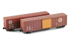 Micro-Trains 50' FMC Boxcar Set MTLZ07-11