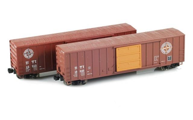 Micro-Trains 50' FMC Boxcar Set MTLZ07-11