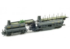 Railex Gleisbausug work train set RLX2985