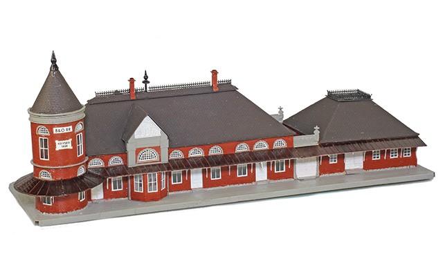 Micron-Art Baltimore & Ohio passenger station 1016-rtr