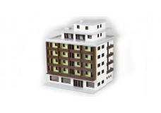 Marklin Apartment building kit 8963-rtr