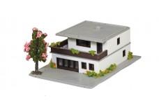 Marklin 2-Story Flatroof House - assembeled 8968_rtr1