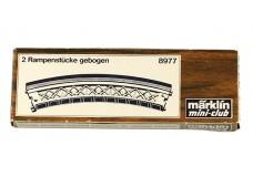 Marklin Curved bridge - single 8977-1