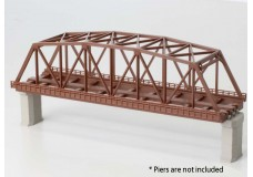 Rokuhan Brown double track iron bridge 220mm R060
