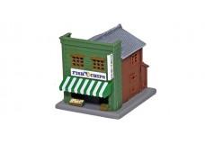 Rokuhan Traditional Shop B - Green S040-1