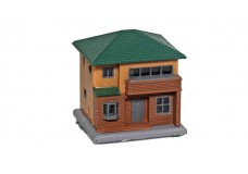 Rokuhan Two Story House C - Brown S044-2