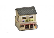 Sankei Japanese 2 story shop - tan SAN14277
