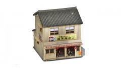 Sankei Japanese 2 story shop - tan SAN14277