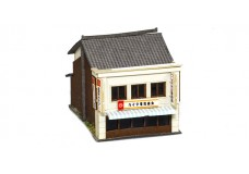 Sankei Japanese 2 story shop - white SAN14279