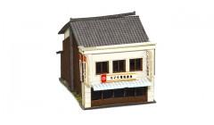Sankei Japanese 2 story shop - white SAN14279