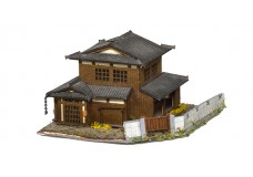 Sankei Japanese traditional home on corner lot with fence SAN14287