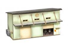 Sankei Japanese 2 story industrial building SAN14294