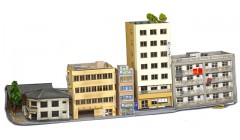 Sankei Japanese eight building city block SAN14304