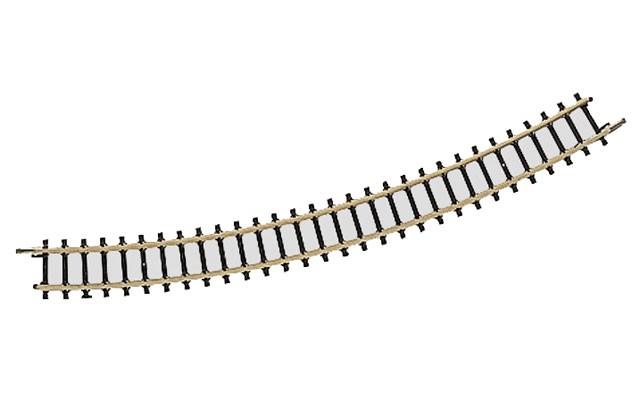 Marklin 220mm 30 degree curved track 8531-3