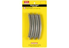 Micro-Trains R195mm x 30° Curved Track 99040903