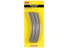 Micro-Trains R195mm x 45° Curved Track 99040904-10
