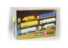 Kibri European tractor trailers 6980_rtr