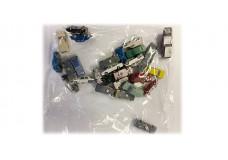 Bag of cast metal vehicles JB14930