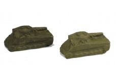 Micro-Trains Tarp covered Sherman Tank JW10784