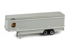 Custom Scratch Build 40' UPS trailer UPS9773